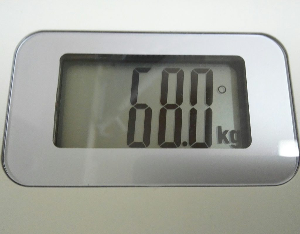 7月15日時点のチョッピーの体重