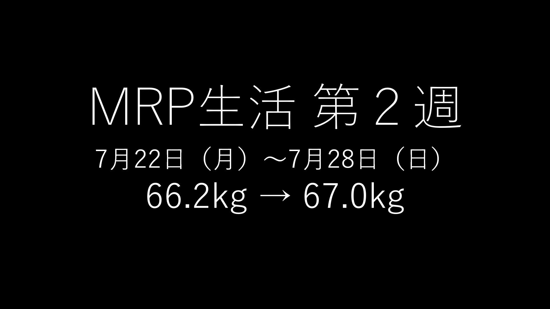 「基本的にMRPだけで生きてみる」第2回のアイキャッチ画像