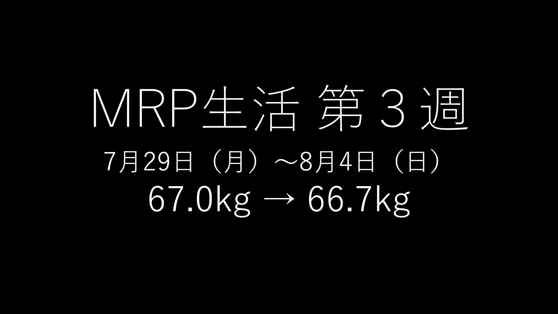 「基本的にMRPだけで生きてみる」第3回のアイキャッチ画像
