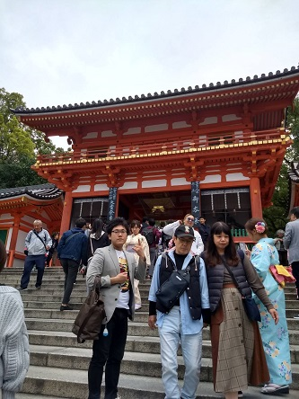 八坂神社西桜門