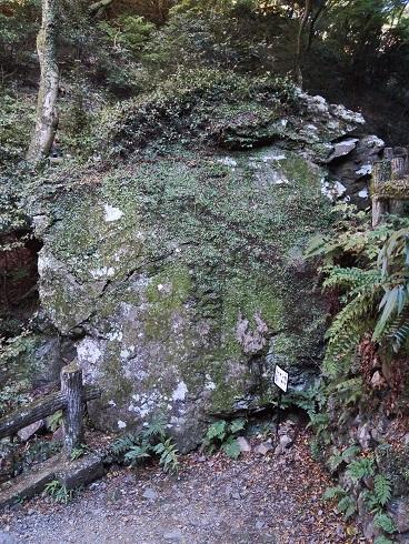 箕面公園-ライオン岩