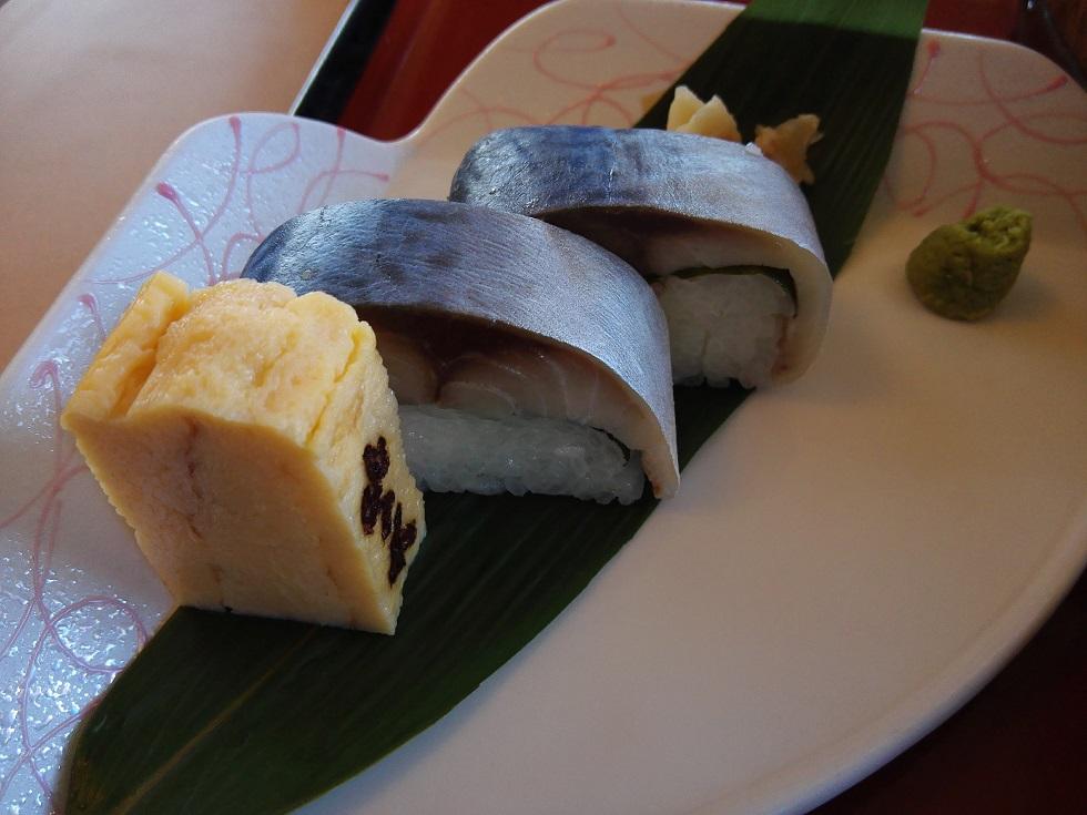 殿サバ寿司 接写