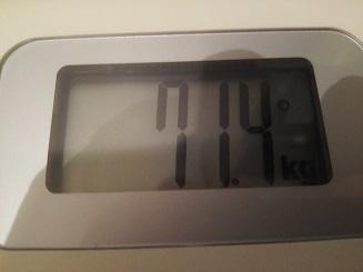 71.4kg
