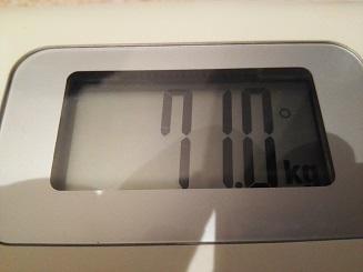 71.0kg