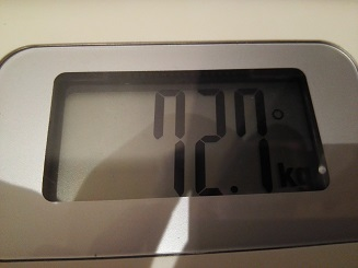 72.7kg