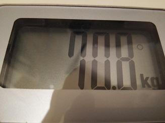 70.8kg