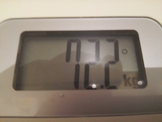 72.2kg