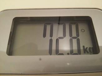 72.8kg