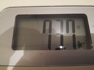 73.7kg