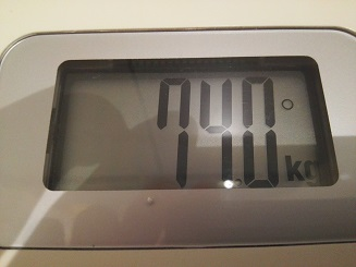 74.0kg