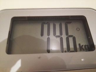 74.6kg
