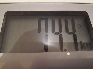 74.4kg