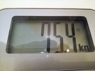 75.4kg