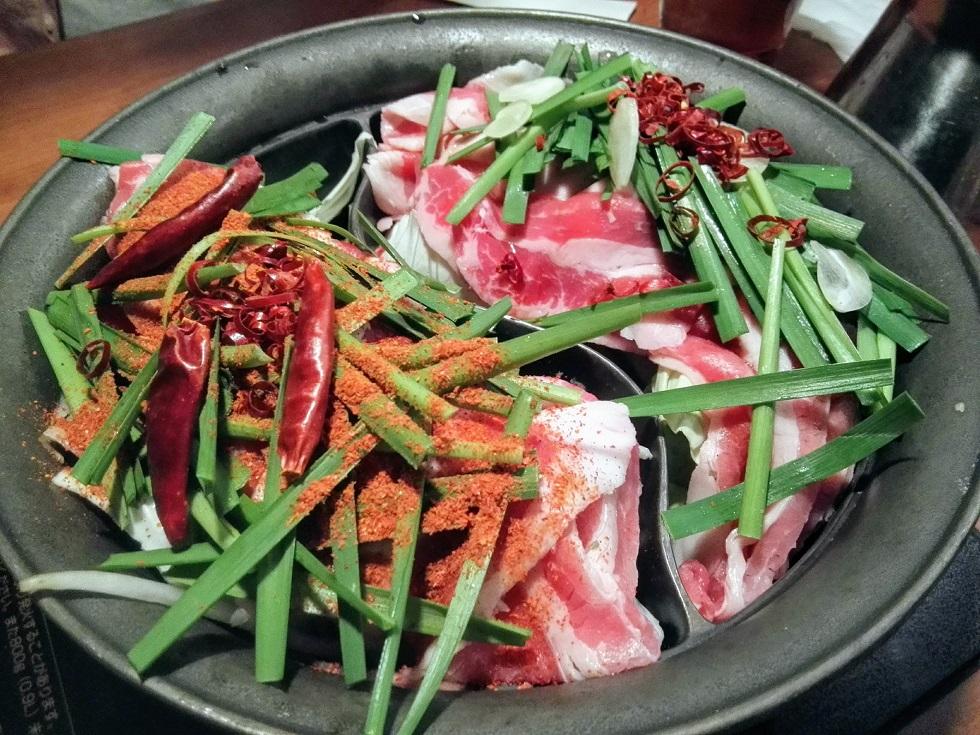 超スタミナ肉鍋