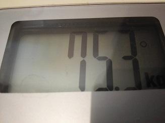 75.3kg