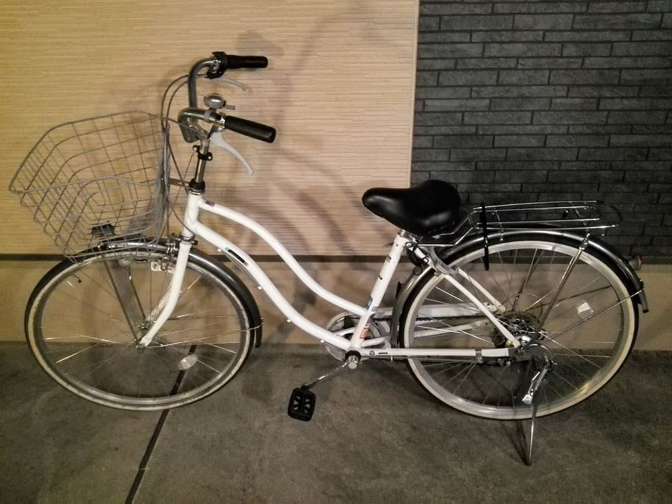 帰ってきた自転車