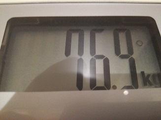 76.9kg