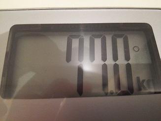 77.0kg