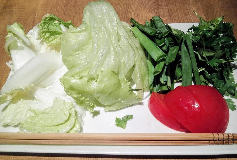 色々な野菜を単品で注文