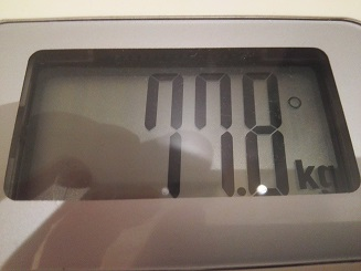 77.8kg