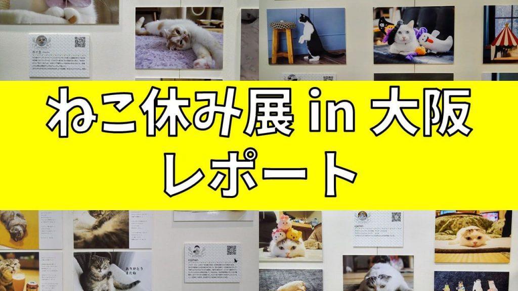 ねこ休み展 in 大阪 レポート