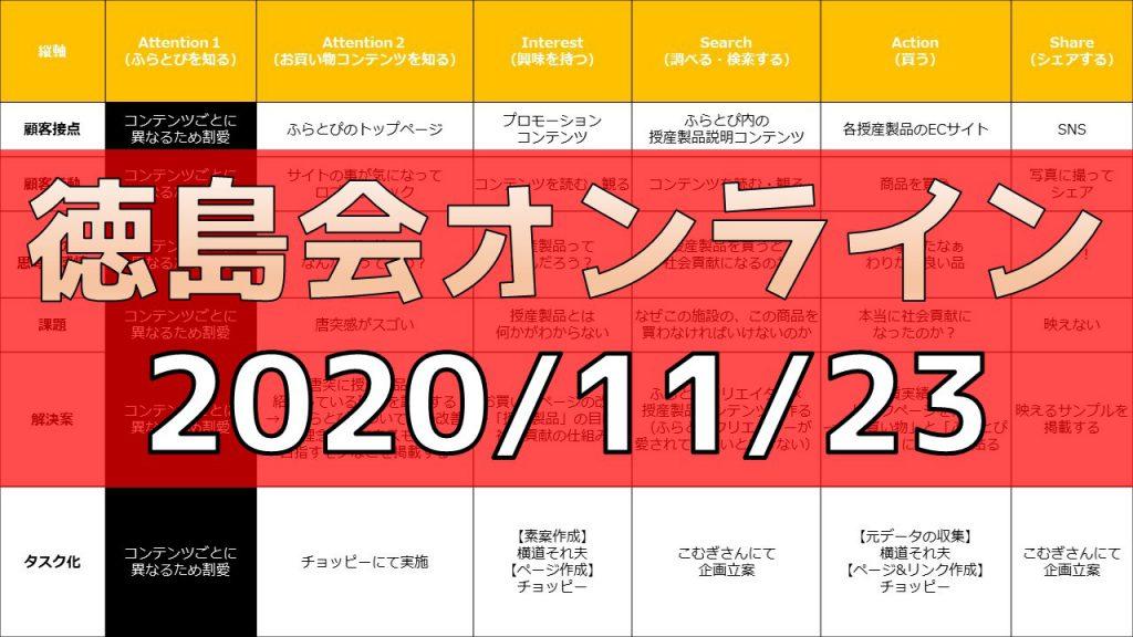 徳島会オンライン 2020/11/23