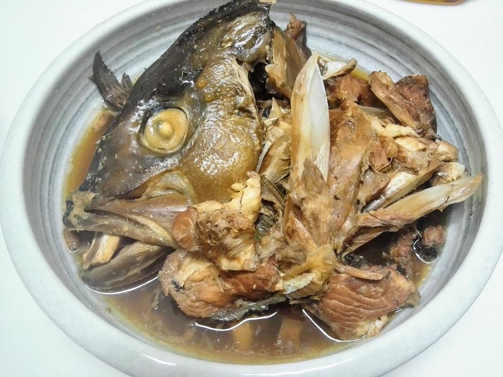 カンパチのアラ炊き
