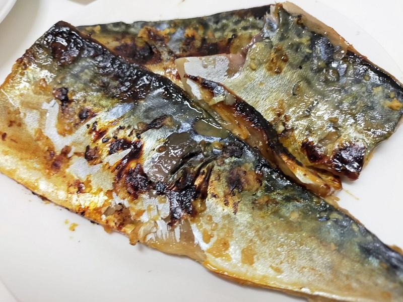 鯖の味噌漬け焼き