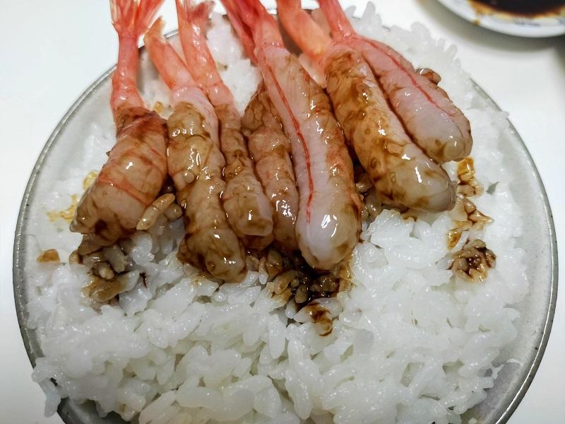 ミニ甘エビ丼