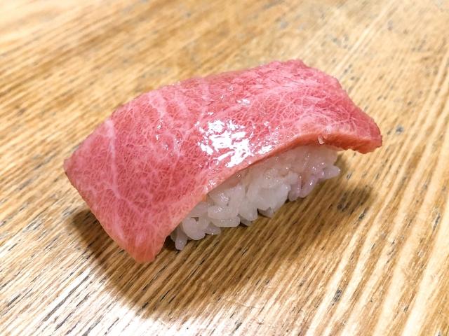 大トロのお寿司