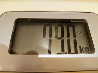 79.0kg