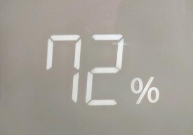 湿度72%