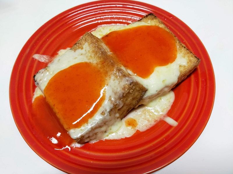 チーズ厚揚げチリソース