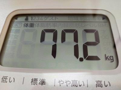 77.2kg