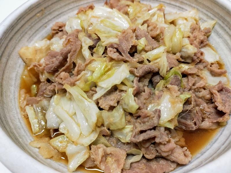 豚肩ロースの甘辛スタミナ炒め