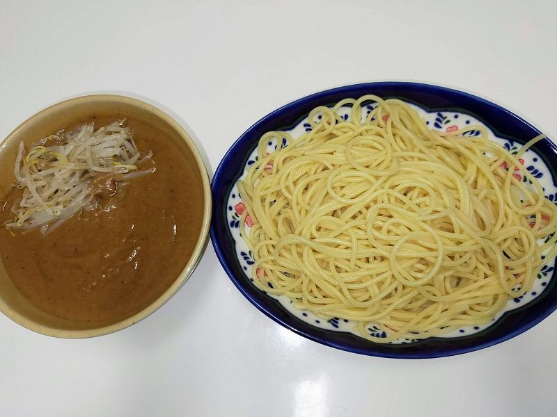 お手製つけ麺(関東風)