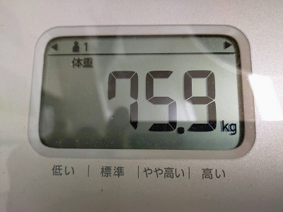 75.9kg