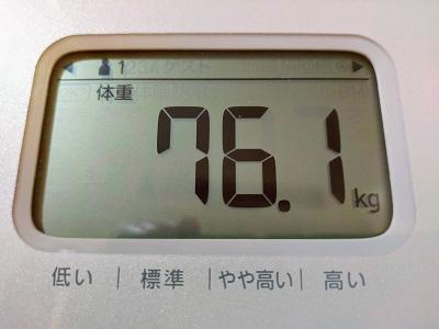 76.1kg